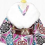 フェイクファーショール 振袖姿にも 真っ白 ボリュームのある フェイクファー ショール(ホワイト) 単品
