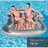 浮き輪 超 巨大 大きい 耐用重量160kg リゾート フロート 遊具 大人 子供 浮き輪 夏遊び プール 海 遊び グッズ 海水浴 BestWay社