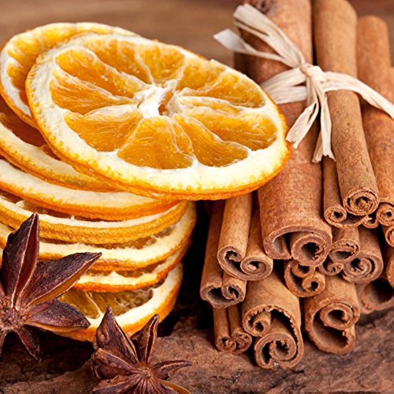 温かい不愉快にチャットアロマフレグランスオイル シナモン&オレンジ(Cinnamon & Orange)