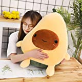 Gianthairball Avocado Plush, Cute Avocado Pillow Stuffed Toy Soft Food Pillow 23.6""