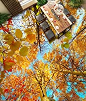 Wapel 壁画の 2454 d 壁紙カスタム サイズ 秋の木々 や森空、バスルーム ベッドルーム 3 D 階壁画 200x140cm