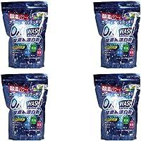 【まとめ買い】紀陽除虫菊 酸素系漂白剤 オキシウォッシュ 粉末タイプ 軽量スプーン付 1kg【×4個】