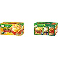 【セット買い】クノール カップスープ コーンクリーム 30袋入 & カップスープ バラエティボックス 30袋入