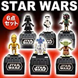 (セット品) スペースオペラ ダース・ベイダー、ストーム・トルーパー、ボバ・フェット、ヨーダ、R2-D2、C-3PO 6点セット スター・ウォ..