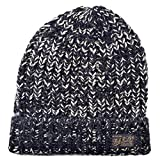 (ポロ ラルフローレン) POLO RALPH LAUREN ニット キャップ メンズ ニット帽 (ワンサイズ, ブラックMIX-001) [並行輸入品]