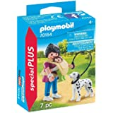 PLAYMOBIL 70154 Mother with Baby and Dog,Colourful