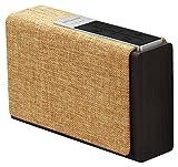 Promate Bluetooth / Wi-Fi ワイヤレス スマート スピーカー XLサイズ 15W microSDスロット/3.5mm オーディオジャック/インターネットラジオ機能付き ブラウン/ベージュ StreamBox-XL BROWN/BEI