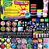 HSETIY Unicorn Cloud Slimeフリースライムおもちゃ、ふわふわスライム香りストレスリリーフバブルガムフレグランス