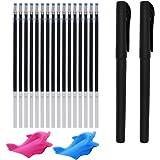 (Magic Pens & Refills) - Magic Pens & Refills for Reusable Magic Practise Copybook, Disappearing Ink Calligraphy Tracing Pens