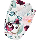 Perfeclan Newborn Infant Baby Swaddle Wrap Sleeping Bag with Hairband Set - Rose Red
