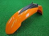 中古 KTM 純正 バイク 部品 250EXC フロントフェンダー 橙 773.08.010.000