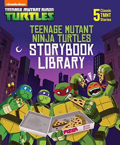 Download Teenage Mutant Ninja Turtles Storybook Library (Teenage Mutant Ninja Turtles) (English Edition) B073R342FF