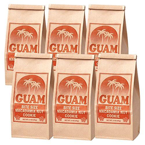 グアムお土産 グアム マカデミアナッツクッキー 6袋セット
