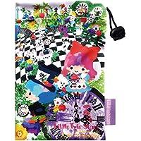 リトルツインスターズ キキ&ララ スマート巾着 ホラグチカヨ ふしぎの国のアリス H15.5cm x W9.5cm SRKN520