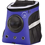 Your Cat Backpack: Jackson Galaxy Convertible - Premium Pet Carrier Bag for Travel and Hiking - Holds up to 25 lbs. - Comfort