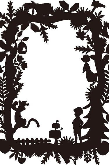 ディズニー  iPhone/Androidスマホ壁紙(640×960)-5 - くまのプーさん影絵