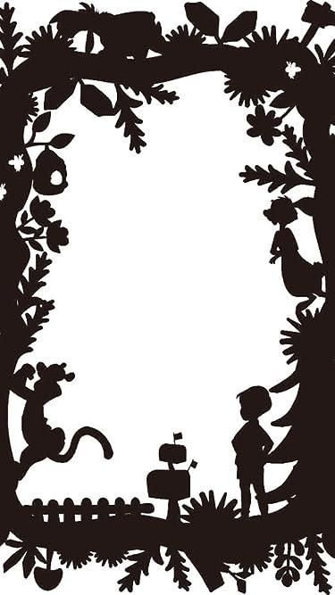 ディズニー  iPhone/Androidスマホ壁紙(540×960)-1 - くまのプーさん影絵