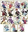あんさんぶるスターズ! ビジュアル色紙コレクション2 BOX商品 1BOX = 15個入り、全15種類