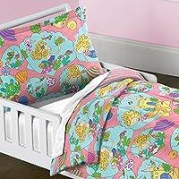 夢工場マーメイドCastle布団セット、幼児用、ピンク