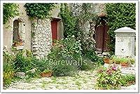 Barewalls Garden in Provence用紙印刷壁アート 16in. x 24in.