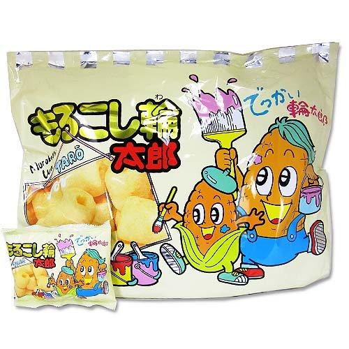 やおきん 特大もろこし輪太郎 (20袋入)アミューズメント ビッグ パーティ 駄菓子 お菓子 詰め合わせ