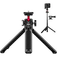 【令和新版】ULANZI MT-16 自撮り棒 ミニ三脚 カメラ三脚 4段伸縮 コールドシュー付き 軽量 持ち運びに便利…
