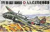 Mania Hobby 1: 72WWII日本陸軍タイプ99ライトBomberプラスチックモデルキット# 06