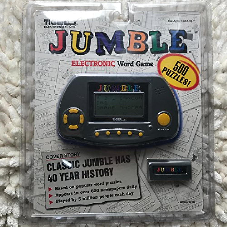 [Tiger Electronics]Tiger Electronics Jumble Electronic Word Game 07-010 [並行輸入品]
