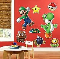 Super Mario Party Giant Wall Decals スーパーマリオパーティジャイアント壁飾り♪ハロウィン♪クリスマス♪