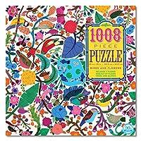 Eeboo Birds and Flowers 1008 Piece Puzzle [並行輸入品]