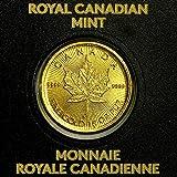 2016年製 メイプル金貨 1g純金 24金 メイプルリーフ ゴールドコイン