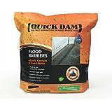 Quick Dam QD617-1 Flood Barrier, 17-ft, Black