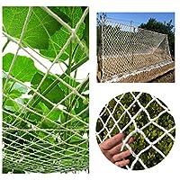 芝生保護ネット 階段のセーフティネット セーフティネット、子供用バルコニー階段の落下防止ネット、天井装飾ネット、窓保護ネット、ペットセーフティネット、マルチサイズ(2 * 5m) 伝統的な手織りのネット 写真の壁 (Color : 6mm/5cm, Size : 4*10M)