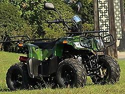 IceBear(アイスベアー) 四輪バギー ATV 50cc セミオートマ前進3速バック付 ミニカー登録 公道走行可 迷彩 HL50M