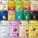 【Amazon.co.jp限定】 サントリー チューハイ ほろよい 14種類飲み比べオリジナルアソートセット (各2本) [ 350ml×28本 ]