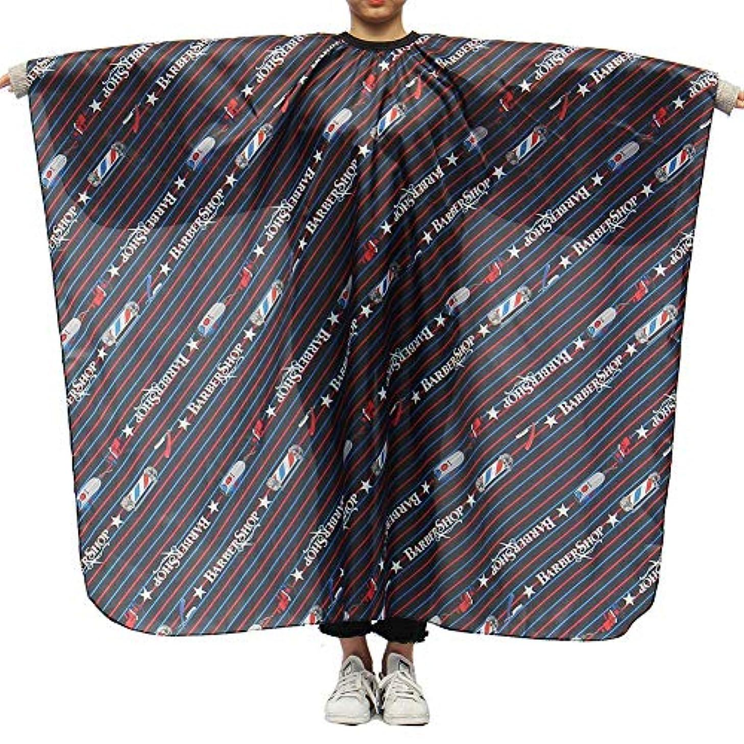 穿孔するアパルバイソンLing(リンー)-ビューティー 理髪ケープ 理髪布 店用 家庭用 通気性 滑らか ポリエステル製