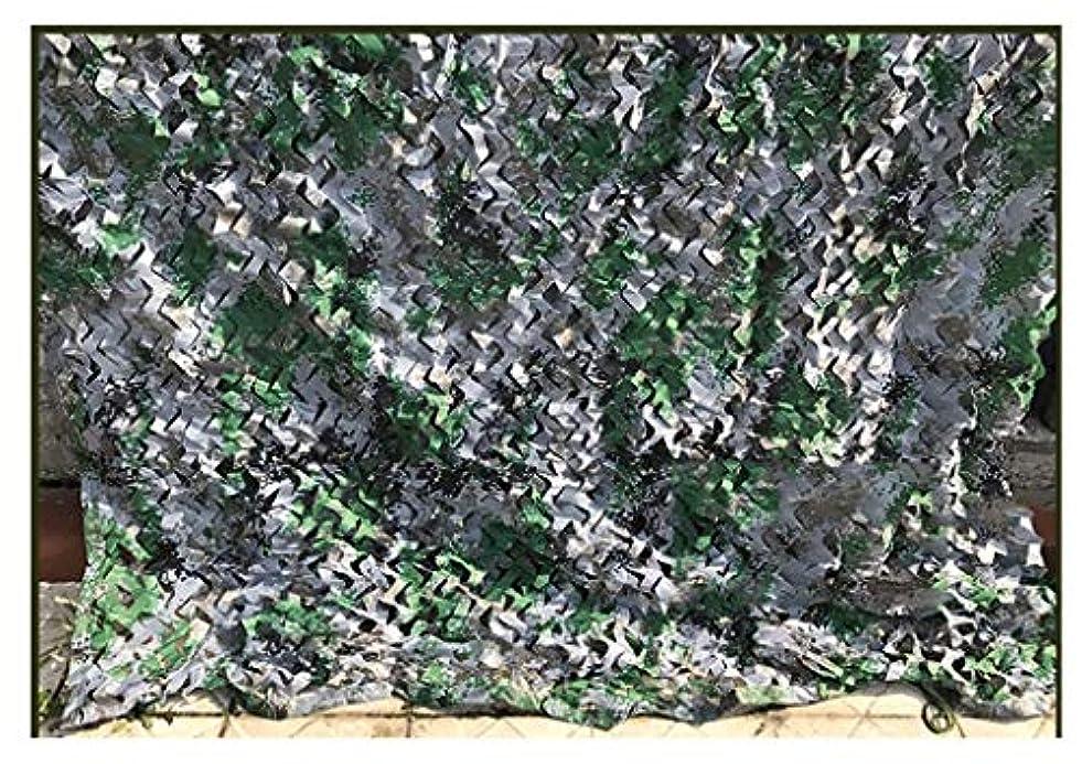 闇組み合わせ歩く遮光ネット デジタルカモフラージュネットオックスフォード布ハンティングシューティング隠し陸軍キャンプパーティーデコレーション 迷彩ネット屋外隠しテント (サイズ さいず : 2*8m)