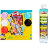 Play Doh Fundamentals Bundle: Animals Play Set + Play Doh Party Pack