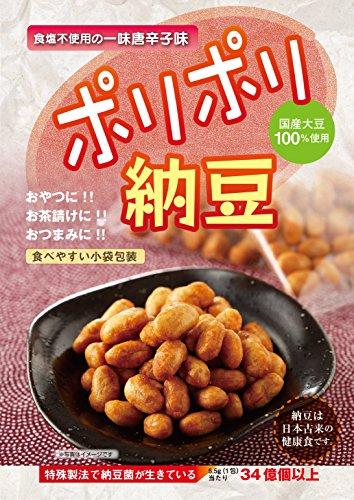 タコー ポリポリ納豆 一味唐辛子味(5.5g?30包)
