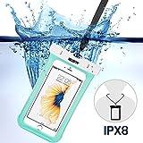 iphone6s/Samsung防水ケース ESR スマホ防水ケース 防水カバー 防水保護等級IPX8取得 水深30m防水テスト 安全ロック100%密封 内蔵ポケット付属 iphoneSE/5s/iPhone6s Plus/iPhone6s/S...
