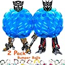 2- Pack Inflatable Bbopバブルサッカーバンパーボール バンパーボディボール36 –Giga相撲Zorb Suits 2Balls included-for子供大人