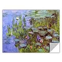 ArtWall 'Sea Roses' Removable Wall Art by Claude Monet, 18 by 24-Inch [並行輸入品]