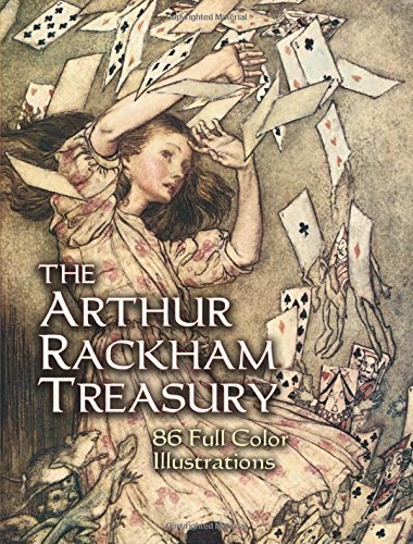 The Arthur Rackham Treasury: 86 Full-Color Illustrations (Dover Fine Art, History of Art)の詳細を見る