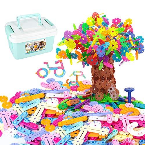 Tagitary おもちゃのブロック 子供用おもちゃ 組み立て式 DIYおもちゃ 積む遊び 2種類豪華セット ボックス付き 収納便利 男の子・女の子 誕生日プレゼント ブラック知育玩具 保育園教具