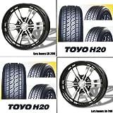 17インチ 4本セット タイヤ&アルミホイール トーヨー(TOYO) H20 215/60R17 ラグジーヘインズ