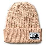 (ヘルスニット) Healthknit 綿麻ケーブルニット帽 フリーサイズ/サマーニット/帽子/春夏/ワッチキャップ[HEALTHKNIT-HKC125] ベージュ