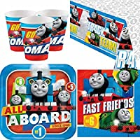 Thomas the Tank Engine Party Tableware Pack for 8