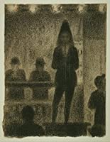 Georges Seurat ジクレープリント キャンバス 印刷 複製画 絵画 ポスター (フランスのトロンボーン奏者)