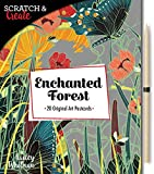 Scratch & Create: Enchanted Forest: 20 original art postcards -
