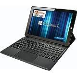GLM 575g ! 超軽量 2in1 ノートパソコン タブレット 10.1インチ PC 日本語キーボード Microsoft Office / Windows 10 / Celeron /メモリ 4GB / SSD 128GB / WIFI / USB3.0 / HDMI / WEBカメラ
